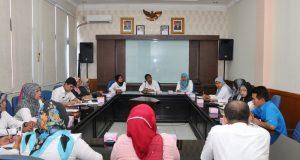 Asisten I Yoherman menerima kunjungan kerja dari Pemko Bukittinggi dan Kab Solok terkait Kerjasama Pemerintah Daerah dan Pengelolaan Air Minum