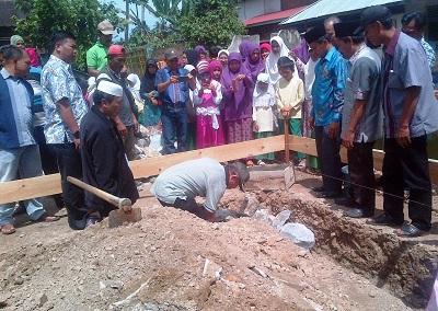 MDTA Balai Talang, Peletakan Batu Pertama