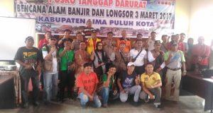 Kata BNPB Dalam Jumpa Pers, Penanganan Bencana Limapuluh Kota Berjalan Baik