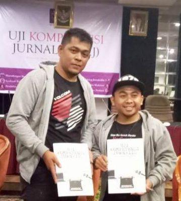 24 Anggota AJI di Sumatera Lulus Ujian Kompetensi Jurnalis, 2 Jurnalis Payakumbuh/Limapuluh Kota Terbaik