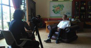 Tertarik dengan Perkembangan Payakumbuh, Lembaga Penilitian Belanda Wawancarai Riza Falepi