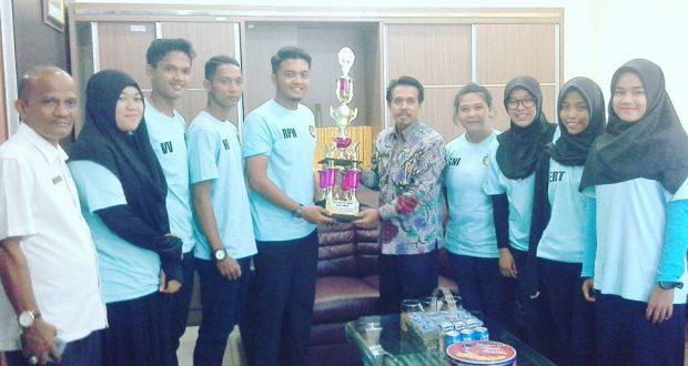 UNP Apresiasi Prestasi Mahasiswa Taekwondoin
