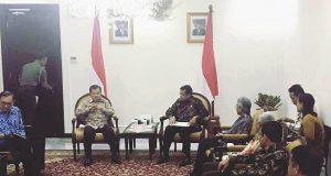 Rektor UNP Temui Wapres JK di Kebon Sirih