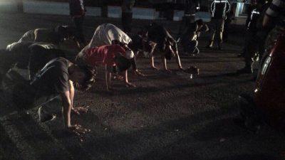 Catatan Perjalanan Operasi Tim 7, 12 Remaja Bukittinggi Dihukum Push Up