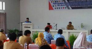 FGD Tentang Pembentukan UPT Tingkat Sumbar Dibuka oleh Sekdako Benni Warlis