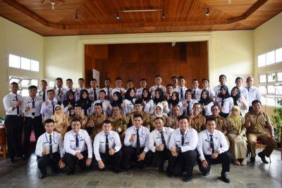 40 Siswa Purna Praja IPDN Kunjungi Limapuluh Kota