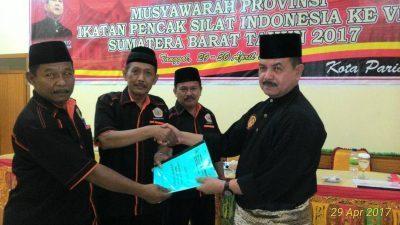 Lagi Fauzi Bahar Ketua IPSI, Wilman Singkuan Jadi Formatur