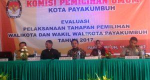 KPU Gelar Evaluasi Pelaksanaan Tahapan Pemilihan Kepala Daerah, H Wilman Singkuan: Kampanye Terlalu Lama