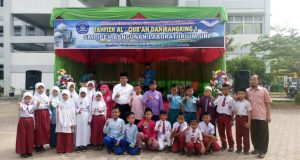 Jelang Ramadhan Di SMP Pembangunan Labor UNP, Puluhan Murid SD Ikuti Lomba Tahfiz Al-Qur'an