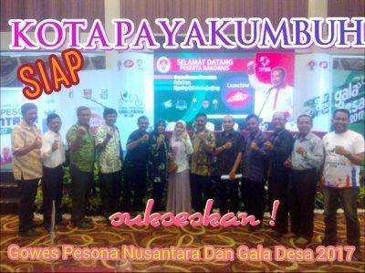 Payakumbuh terpilih untuk Goes Pesona Nusantara dan Gala Desa