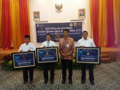 Rektor UNP Hadiri Launching Beasiswa Bank Indonesia