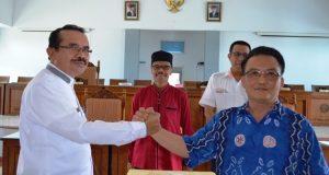 Dharmawijaya Kabag Risalah dan Perundang-Undangan Dilantik Selaku Plt. Sekwan