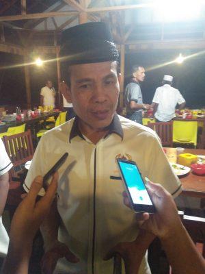 Ketua KONI Provinsi Sumbar, Syaiful SH MHum