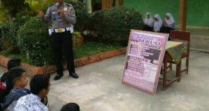 Polisi Pembina Pelajar, Apriman Sural Tampil di SMAN 1 Pangkalan