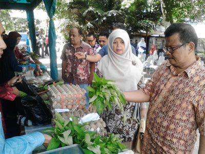Dinas Pertanian Gelar Pasar Tani Murah, Mulai Cabe Hingga Karabu Baluik