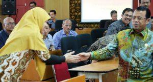 Unja Belajar ke UNP, Rektor Sambut Kunjungan Kehormatan