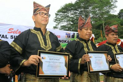 Kini, Walikota dan Ketua DPRD Payakumbuh Bergelar Pandeka