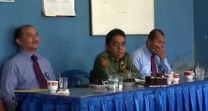 Kunjungan Wakil Bupati Limapuluh Kota dan Kacab Bank Nagari Payakumbuh dalam rangka Hari Pers Nasional 2015 di Balai Wartawan Luak Limopuluah