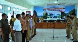 Bupati Limapuluh Kota Alis Marajo mengukuhkan pengurus sementara Perwanaliko