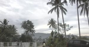 Jalan Inspeksi di sisi irigasi Batang Lampasi, di Kelurahan Padang Tinggi Payakumbuh Barat.