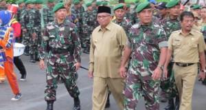 Kepala Staf Kodam (Kasdam) I/Bukit Barisan Brigjen TNI Widagdo Hendro S