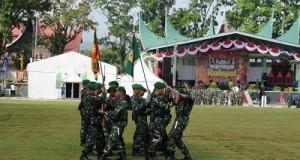 Upacara Puncak Hari Infanteri Digelar Meriah di Bukittinggi
