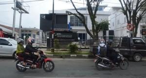 Gedung BPJS Kesehatan Cabang Payakumbuh di Jalan Ade Irma Suryani Payakumbuh yang akan diresmikan awal Februari 2016.