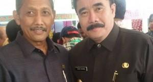 Wakil Ketua DPRD Payakumbuh H Wilman Singkuan Dt Parpatiah SSos MM dan Pj Gubernur Sumbar Donnie Moenoek
