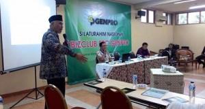 Walikota Padang Mahyeldi Ansharullah di depan Genpro