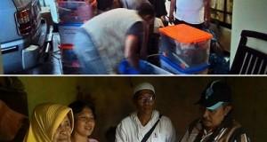 Bantuan Keluarga Almarhum Buya H Abdullah Afandi ke Pangkalan