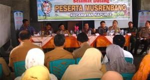 Wabup Ferizal Ridwan Tutup Musrenbang di Kapur IX, Cepat Tangani Kesusahan Masyarakat