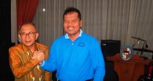 Anggota DPR RI H Refrizal dan Bupati Limapuluh Kota Irfendi Arbi