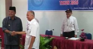 Yusrizal Dilantik Irfendi Arbi, Segera Balai Wartawan Berkantor Dekat Bupati