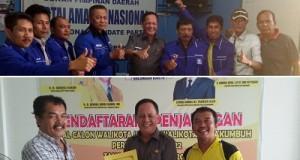 H Benny Mukhtar MM kembalikan formulir Bakal Calon Walikota di DPD PAN, ambil formulir di Partai Golkar