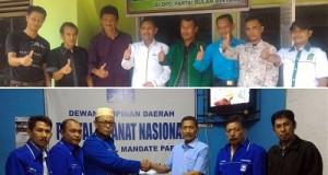 H Wilman Singkuan Dt Parpatiah MM saat mendaftar di beberapa parpol demi menjadi Kepala Daerah di Payakumbuh