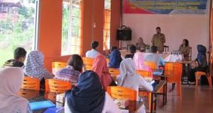 Kadis Pariwisata, Pemuda dan Olahraga Payakumbuh Syahnadel Khairi membuka Pelatihan Pemuda.