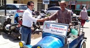 Marsanova Andesra SH MH dekat dengan semua lapisan masyarakat di Payakumbuh