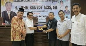 Anggota DPR RI Komisi IX H John Kenedy Aziz SH menggelar Rapat Dengar Pendapat (RDP) dengan Pemko Payakumbuh