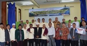 Rombongan FKUB Limapuluh Kota dan Pemkab Kabupaten Toba Samosir