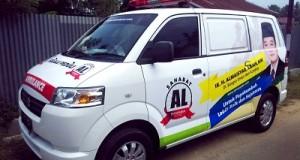 Ambulance Gratis H Almaisyar, Menebar Manfaat dan Menolong Warga Setiap Waktu