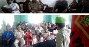 Pelantikan PPM 50 Kota, Safaruddin Dt Bandaro Rajo siap berkarya jayakan daerahnya.