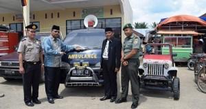 Wali Nagari Muaro Paiti-Mobil Ambulan Pribadi Untuk Masyarakat