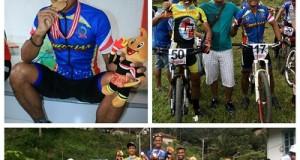 1 Emas, 1 Perak, 1 Perunggu Dari Balap Sepeda, Ketua ISSI Payakumbuh Yoserizal Teja bersama pebalap