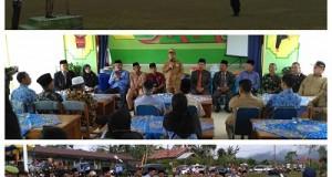 Wakil Bupati Limapuluh Kota Ferizal Ridwan menghadiri rangkaian acara Hari Bela Negara, yakni napak tilas di Koto Kociak dan upacara bela negara di Koto Tinggi