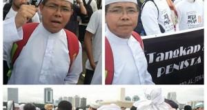 Wakil Ketua DPRD Kota Payakumbuh H Suparman SPd kut serta dalam aksi bela Islam III 2 Desember 2016