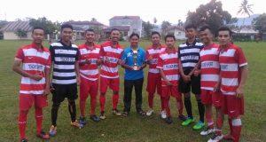 Kecamatan Payakumbuh Barat menjuari babak penyisihan zona Payakumbuh Minangkabau Cup 2017