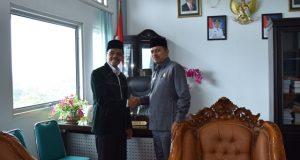 Ketua DPRD Limapuluh Kota dan Kakankemenag Liko