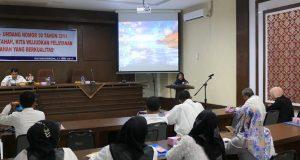 Cegah Penyimpangan, Pemko Payakumbuh Adakan Sosialisasi UU No.30 Tahun 2014 Tentang Administrasi Pemerintahan