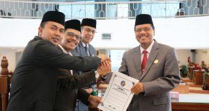 DPRD Limapuluh Kota Gelar Paripurna Penyampaian LKPJ Bupati