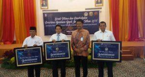 Rektor UNP Hadiri Launching Beasiswa Bank Indonesia